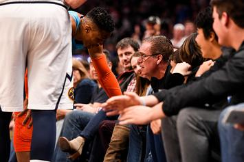 "Russell Westbrook On Being 'Hit' By Young Fan: ""You've Got To Control Your Kids"""