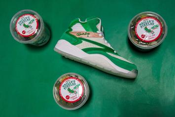 "Ewing Athletics x Grillo's Pickles Collab: ""The Pickle"" Ewing Sport Lite"