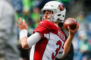"Josh Rosen Is The Arizona Cardinals Starting QB ""Right Now,"" Says GM"