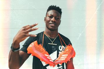 "Adidas Signs Top NFL WR Prospect Marquise ""Hollywood"" Brown"