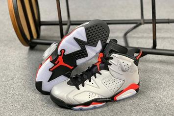 "Air Jordan 6 ""Reflective Infrared"" Revealed In Detail"
