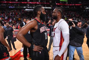 Dwyane Wade On James Harden: 'One Of The Most Unguardable Players Ever'