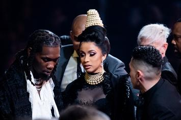 """Offset's Baby Mom Shya L'amour Credits Cardi B With """"Helping Him Grow"""""""
