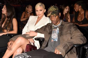 Travis Scott Closes MSG Concert By Wooing Kylie Jenner On The Loudspeaker