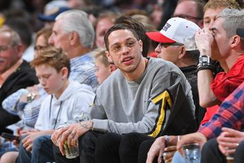 Pete Davidson Debuts New Ink During Kate Beckinsale Make Out Session