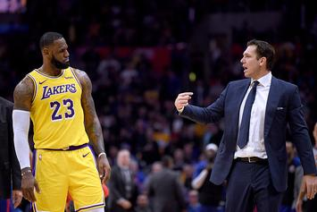 "Lakers' Luke Walton Will ""Almost Certainly"" Be Fired After This Season: Report"