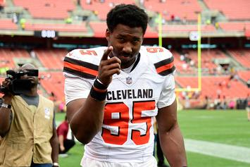"Browns' Myles Garrett Warns Redskins' Derrius Guice Of Mia Khalifa ""Trap"""