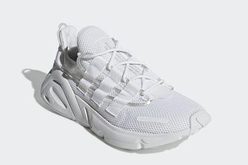 """Adidas LXCON To Release In """"Triple-White"""" On March 23rd"""