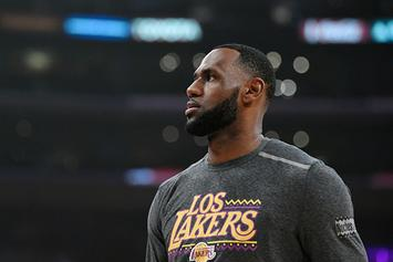Lakers Limiting LeBron James' Minutes For Rest Of Season: Report