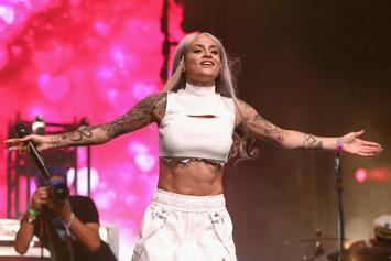 Mom To Be Kehlani Looks Like She's About To Pop In Belly-Out Dance Off