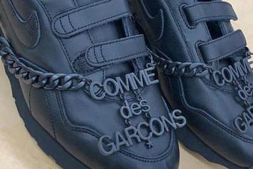 Comme Des Garcons x Nike Have A Wild Velcro Sneaker Collab In The Works