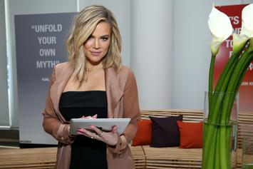 "Khloe Kardashian Pens Note To Unknown Individual: ""Choose Your Words Wisely"""