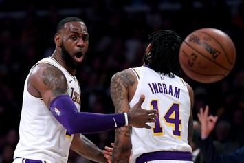 "Lakers Reveal: ""Brandon Ingram Expected To Miss Remainder Of Season"""