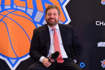 "Knicks Fan Kicked Out Of Game After Telling James Dolan ""Sell The Team!"""