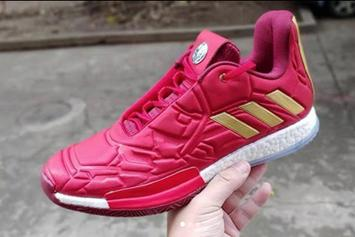 """Iron Man"" Adidas Harden Vol. 3 Coming Soon: New Images"