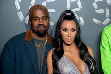 Kanye West & Kim Kardashian West Take A Break For A Skating Rink Date