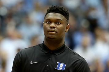 Zion Williamson Exposed For Thirsty Snapchat Photos
