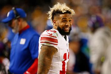Odell Beckham Jr. Posts First Message Since Giants-Browns Trade
