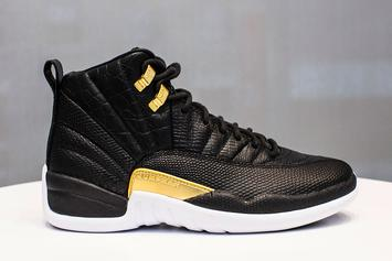 Air Jordan 12 For Women To Feature Reptile Skin Pattern