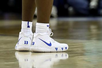 c4e27f05542c Nike Crafts Special Edition Kyrie 4 For Zion Williamson s Return