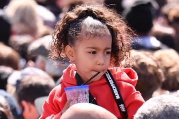 "North West's Dance Moves Steal The Show At Kanye West's ""Sunday Service"""