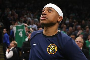 Isaiah Thomas Moved To Tears During Celtics' Tribute Video