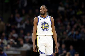 Kevin Durant Surprises Fans With Pizza Delivery To Their Hotel Room: Video