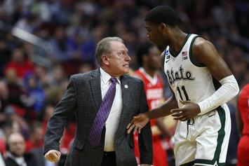 Tom Izzo Isn't Sorry For Epic Rant At Aaron Henry