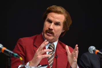 Will Ferrell Channels Ron Burgundy For Los Angeles Kings Broadcast