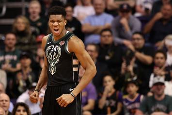 Giannis Antetokounmpo To Debut Nike Signature Shoe During NBA Playoffs