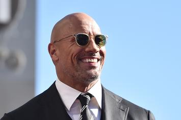 "Dwayne ""The Rock"" Johnson Gets Insane Fan Love In Atlanta Traffic"