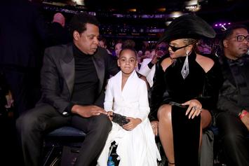 """Beyonce & Jay Z's Daughter Blue Ivy Cracks Some """"Corny Jokes"""" With Tina Knowles"""