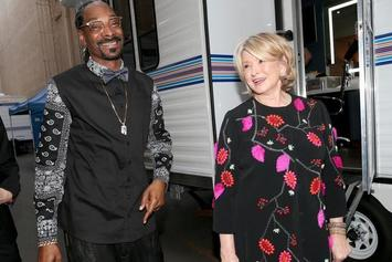 "Snoop Dogg & Martha Stewart Get Sensual In Cheeky ""Titanic"" Parody"
