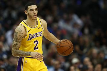 Lonzo Ball Covers Up Big Baller Brand Tattoo: Photos