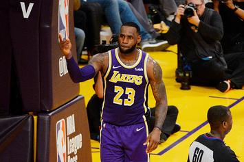 LeBron James Will Have Full Basketball Court Built On Space Jam 2 Set