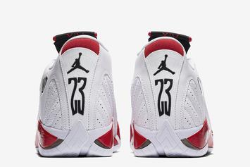 """Air Jordan XIV """"Candy Cane"""" Returning For 20th Anniversary This Weekend"""