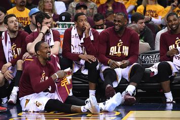 "Channing Frye Says Thing He'll Remember Most About LeBron Is His ""Smelly Breath"""