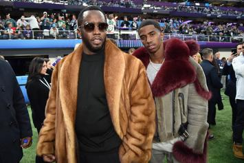 "Diddy Treats Son ""King Combs"" To A Gold Jet Ski, In Coronation By Sea"