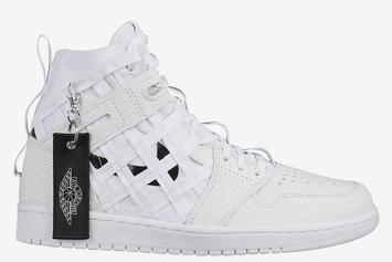Air Jordan 1 Cargo To Release In Simple White & Black Colorway