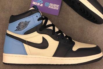 "Air Jordan 1 High OG ""UNC & Obsidian"" New Images Revealed"
