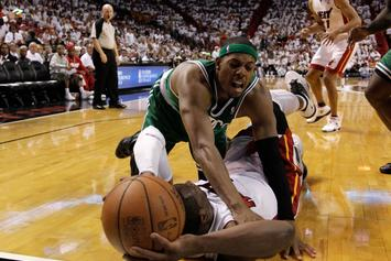 Dwyane Wade Reacts To Paul Pierce Claiming His NBA Career Was Superior