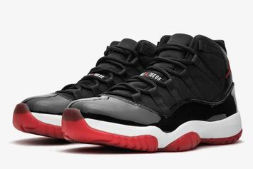"Air Jordan 11 ""Bred"" Rumored To Release In Full Family Sizing: Details"