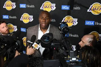 Magic Johnson Thanks The Lakers On Twitter After Quitting Last Night