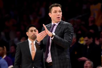 "Luke Walton ""Clear Front-Runner"" For Kings Head Coaching Job If Fired By Lakers"