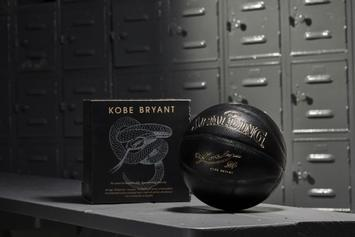 "Spalding Releasing Kobe Bryant-Inspired ""Black Mamba"" Basketball For $125"