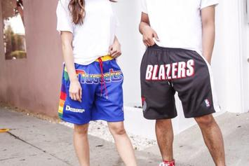 Just Don x Mitchell & Ness Releasing Blazers, Nuggets NBA Shorts