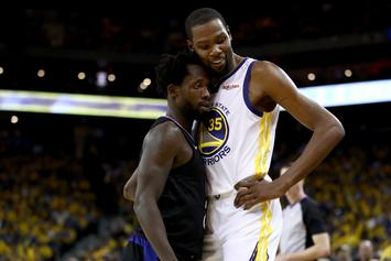 """Kevin Durant Apologizes For Patrick Beverley Ejection: """"It's A Huge Distraction"""""""