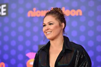 """Ronda Rousey Says She's On An """"Impregnation Vacation"""" After Breaking Hand"""
