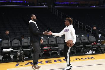 LeBron James Is A Proud Parent After Bronny Jr. Hits Overtime Dagger