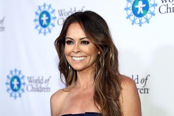 "Former Playboy Model Brooke Burke Posts ""Courageous"" Nude Photos"